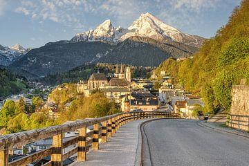 Soleil matinal à Berchtesgaden