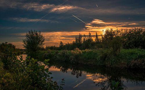 mooi plekje voor een zonsondergang van