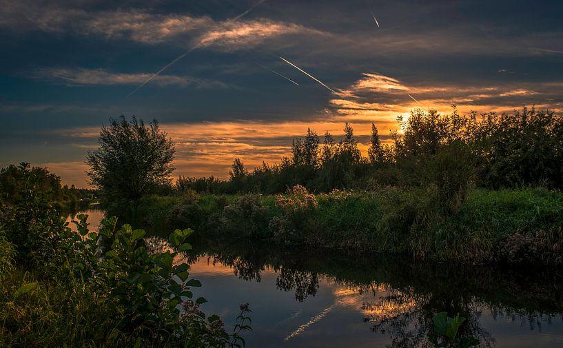 mooi plekje voor een zonsondergang van Robin Pics (verliefd op Utrecht)