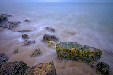 Stenen op het strand van Johan Vanbockryck