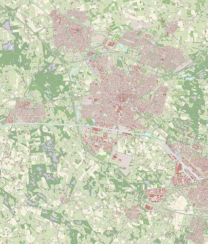 Kaart vanHengelo