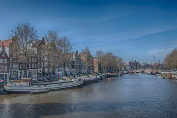 Oude Waal Amsterdam van Peter Bartelings Photography