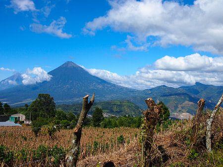 Vulkan in Guatemala