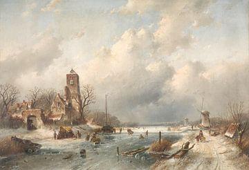 Wintergesicht, Charles Leickert