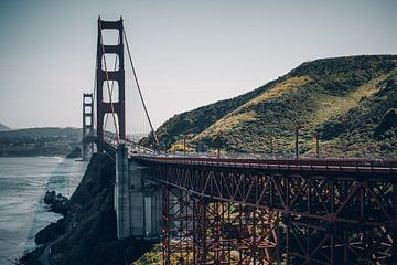 Golden Gate Bridge, San Francisco - U.S.A. von Dylan van den Heuvel