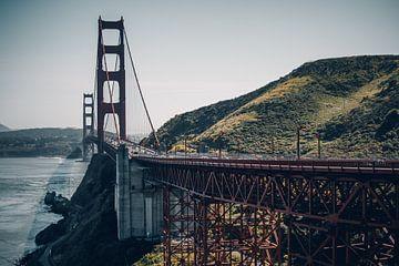 Golden Gate Bridge, San Francisco - U.S.A. sur Dylan van den Heuvel