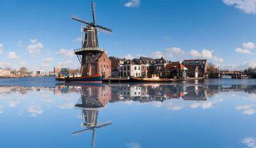 De Adriaan windmill in Haarlem von