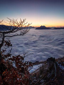 Wolkenzee van Thomas Weber