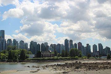 Skyline Vancouver British Colombia van Elisabeth Eisbach