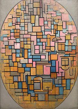 Tableau III: Ovale Komposition, Piet Mondriaan