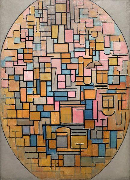 Tableau III: Ovale Komposition, Piet Mondriaan von Meesterlijcke Meesters