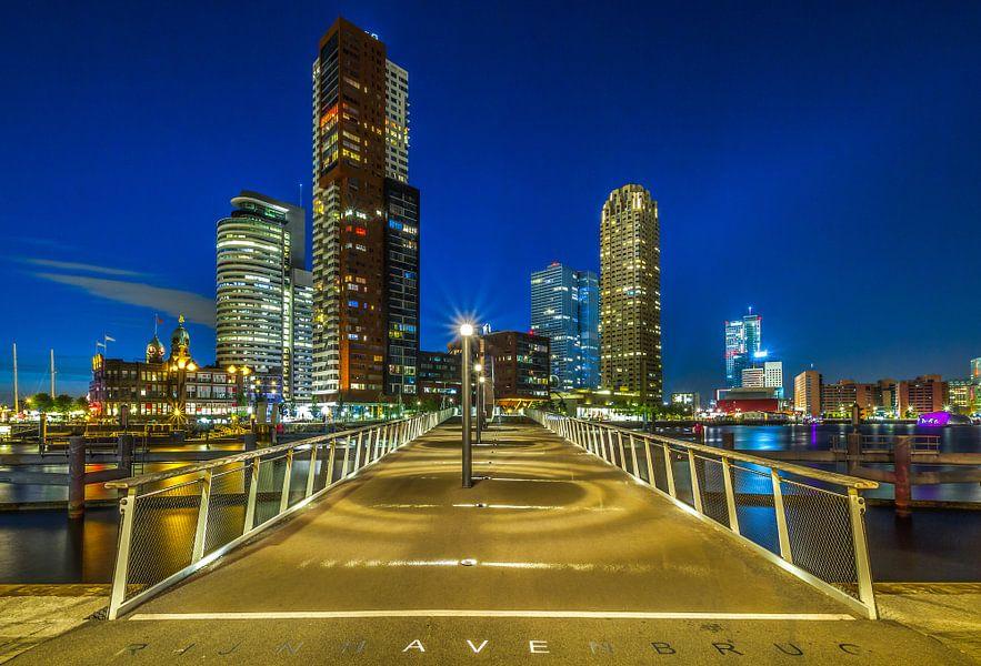 De Rijnhavenbrug in Rotterdam van MS Fotografie