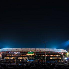 De Kuip - stadion feyenoord van Bram Kool