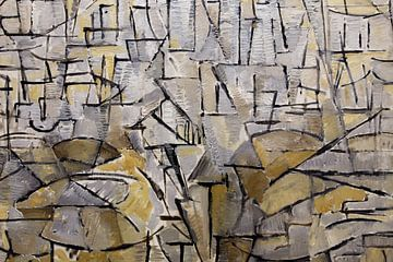 Tableau n. 4, 1913, Piet Mondriaan sur Meesterlijcke Meesters