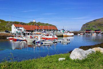 Fischerromantik auf der Nordkap-Insel von Gisela Scheffbuch