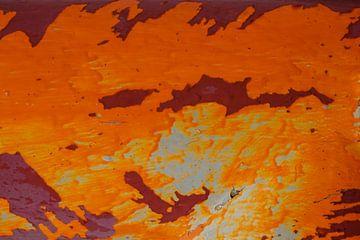 red and orange van -  JOJO  -