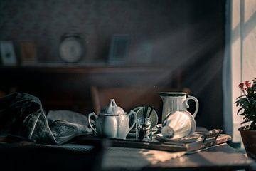 service à thé sur Bert-Jan de Wagenaar