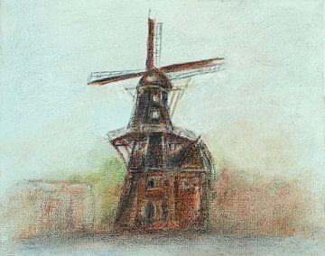 Molen De Adriaan ( Haarlem) van Ineke de Rijk