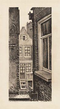 Amsterdam, Doorkijkje, Meijer Bleekrode, 1928