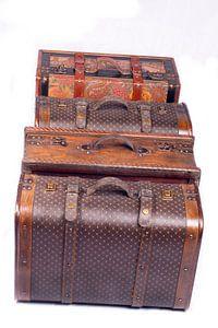 antieke koffers