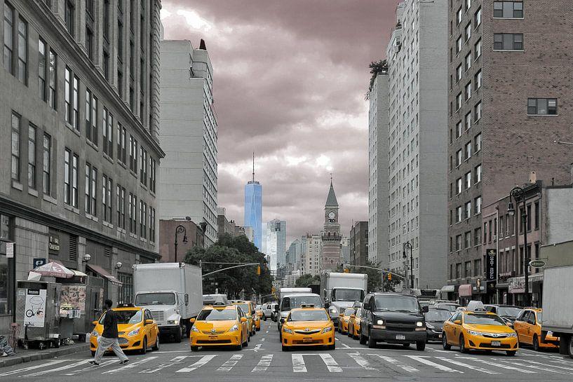 New York City Straatbeeld van Paul van Baardwijk