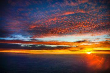 Vogelperspectief van de zonsopgang van Denis Feiner