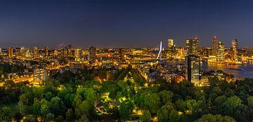 Blick vom Euromast-Turm Rotterdam, Niederlande von Dennis Donders