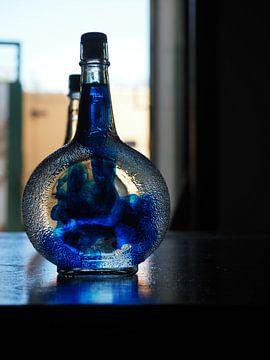 De geboorte van Blue Curacao van Atelier Liesjes