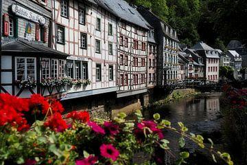 Fachwerkhäuser in Monschau von BHotography