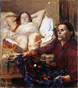 Danae - Max Slevogt, 1895