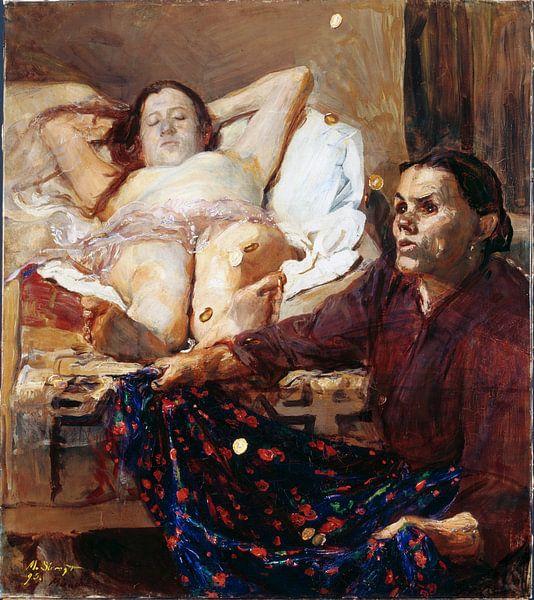 Danae - Max Slevogt, 1895 von Atelier Liesjes
