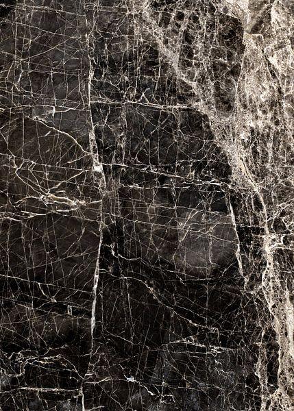 ABSTRACT BLACK & WHITE v3 van Pia Schneider