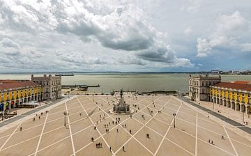Praça do Comércio in Lissabon van MS Fotografie | Marc van der Stelt