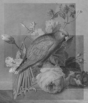 Les fleurs et le Perroquet von Marja van den Hurk