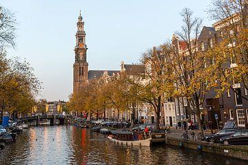 Westerkerk während der Golden Hour von Arno Prijs