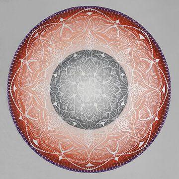 zilveren mandala van Atelier Zerah
