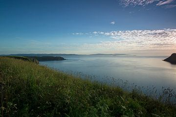 Landscape at Portree in Scotland van Babetts Bildergalerie