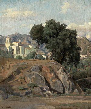Félix-Hippolyte Lanoüe Blick auf La Cava