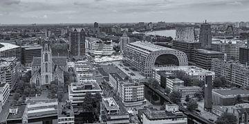 Uitzicht op de Markthal in Rotterdam vanaf de WTC toren von Tux Photography
