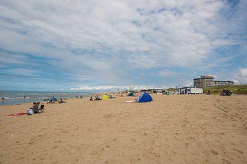 Strand Kijkduin Den Haag van Brian Morgan