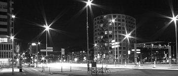 Rotterdam by night van Susanne Viset