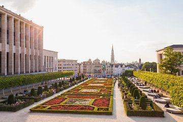 Mont des Arts in Brüssel von Werner Dieterich