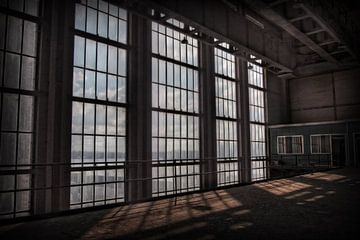 Verlassenes Kraftwerk 9 von Eus Driessen