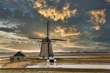 De molen op Texel van Maurice van de Waarsenburg