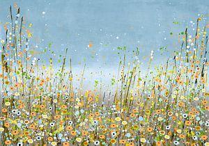 Bloemenzee schilderij