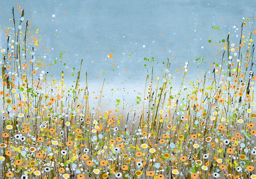Bloemenzee schilderij van Bianca ter Riet