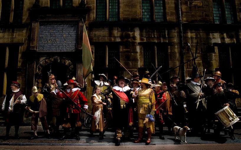 Nachtwacht van Rembrandt van PAM fotostudio
