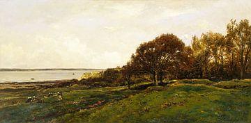 Die Küste von Villerville, Charles-François Daubigny