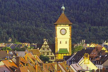 Blick auf das Schwabentor Freiburg von Patrick Lohmüller