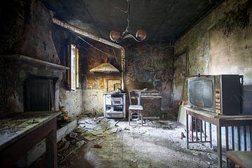 The artist's kitchen von David Van Bael